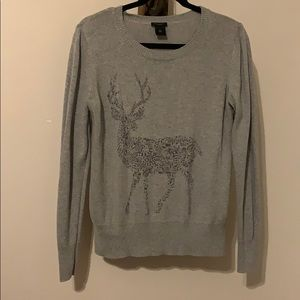 Grey winter sweater